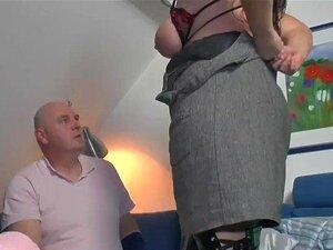Vieux couple baise dans la chambre