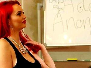 Massiv boobed Brandi Love rockt die Show mit POV Tittenfick